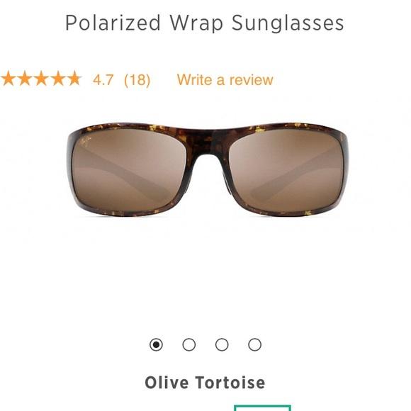 2a66f93fdd9 Maui Jim BIG WAVE polarized sunglasses. M 5b22f30daa5719a6a008c714